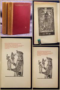 Das Dekameron des Giovanni Boccaccio 2 Bde 1958 sign Holzschnitt Erotik sf