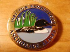 Fur Rendezvous Anchage Alaska Pins 1997 #259