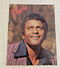 1975 SOUVENIR PROGRAM CHARLIE PRIDE PICTORIAL~N.M.COND.~GREAT OLD PHOTOS~