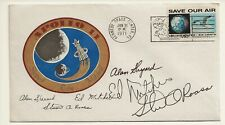 Apollo 14 Launch Cover Signed by Roosa & Mitchell, w/Loa