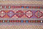 Caucasian Sumac Kilim Rug 40'' x 55'' Fine Quality Sumac Woven Wool Kilim Rug