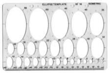 Ellipse Template Stencil - MAJOR BRUSHES