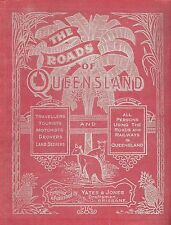 The Roads Of Queensland By YATES & JONES 1913, 212 Scanned Pages PDF & JPG on CD