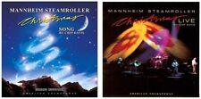 MANNHEIM STEAMROLLER - Christmas Song/Christmas Live (2-CD, American Gramaphone)