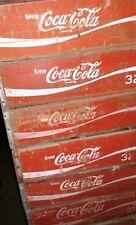 100 Vintage 32oz Coke Coca Cola Wood Soda Pop Crates