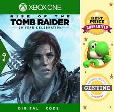 Tomb Raider 20 years celebration Xbox One - New Key Code 🔑 Region Us ✔ [No Dvd]