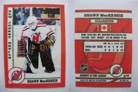 2015 SCA Shawn MacKenzie New Jersey Devils goalie never issued produced #d/10