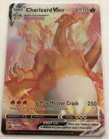 Pokemon CHARIZARD VMAX CUSTOM ARTIST CREATED CARD Reverse Holo Foil NOT TCG