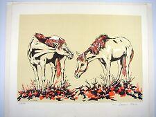 JEAN RAY - Au Paturage Lithographie originale signée et numérotée 194/290 tampon