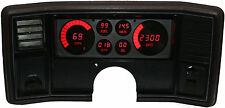 Intellitronix Monte Carlo DIGITAL DASH FOR 1978-1988 Indicadores LED rojos!