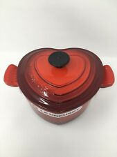 NIB Le Creuset Cast-Iron Heart-Shaped Dutch Oven, 2-Qt -  Brand New