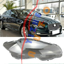 Right Side Transparent Headlight Cover+Glue Replace For Jaguar XJ 2010-2019-WJ