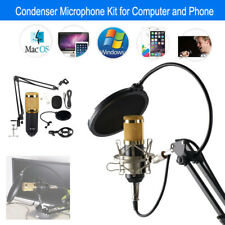 BM-800 USB Wired Studio Condenser Microphone KTV Tool For iphone Phone Computer