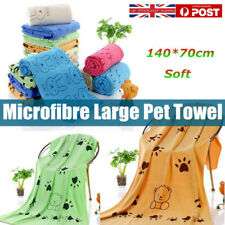 More details for quick dry dog towel (pet cat puppy drying super absorbent)