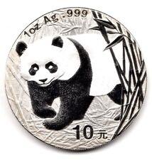 2002 Chinese Panda 1oz Silver Coin Rare UK