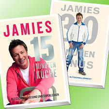 IM SET: JAMIES 15-MINUTEN-KÜCHE + JAMIES 30-MINUTEN-MENÜS | JAMIE OLIVER (Buch)