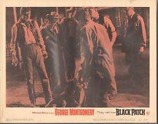 1957 Movie Vestíbulo Tarjeta #2-864 - Negro Parche - George Montgomery