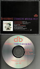 DAVID BOWIE Strangers When We Meet 3 TRX w/ RARE EDITS Buddha PROMO DJ CD Single