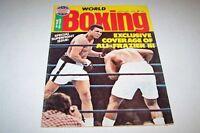 1/1976 WORLD BOXING magazine MUHAMMED ALI