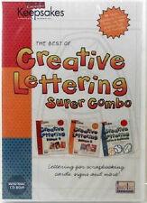 Creating Keepsakes Creative Lettering Super Combo