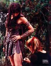 Xena Photo Club February 2000 Feb 00 8x10 photograph Xena gets wound applied