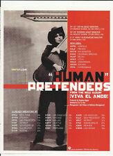 THE PRETENDERS Human TRADE AD POSTER of Viva El Amor CD