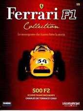 § FERRARI F1 Collection # 59 - 500 F2 - 1952 - C. De Tornaco - Booklet Fascicolo