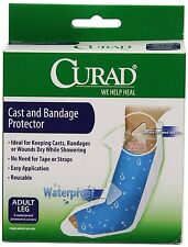 Curad's Adult Leg Cast Protector, Package of 2