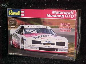 1987 REVELL MOTORCRAFT MUSTANG GTO IMSA 1:25 MODEL KIT COMPLETE