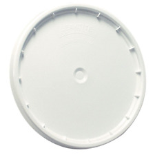LEAKTITE White Bucket Lid 5 Gallon Pail Pack of 3 Reusable Easy Off Plastic New