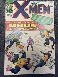 The X-Men #8 (1963 Series) Unus First Appearance