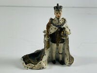Vintage Pewter Hand Painted King Prince Figure D&D? Royalty