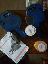 Vtg Lot 2 Pricing Label Guns MX-2200
