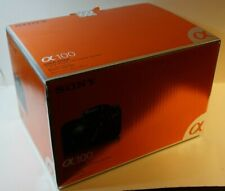 Original Sony Alpha a100 Digital SLR Camera Packing Cardboard Box Only