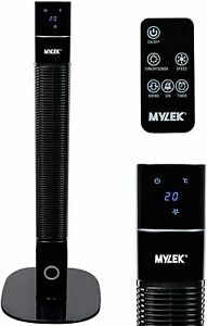Tower Fan Oscillating Electric Remote Control Cooling Air Purifier Timer Mylek