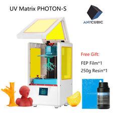 BR ANYCUBIC Photon S SLA 3D Printer 405nm UV Matrix Resin Jewelry Prototype