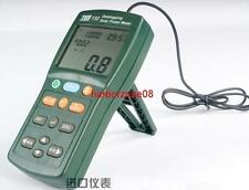 New TES-132 Solar Power Meter Tester Datalogging w/USB Cable and Software