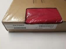 Ikea COVER SLIPCOVER FOR EKTORP Loveseat (2 Seat Sofa)  NORDVALLA RED 203.222.74