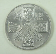 British United Kingdom Coin 5 Shilling 1960