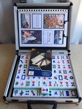 Wooden Mah Jong Vintage Board & Traditional Games