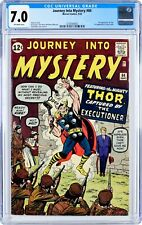 Journey into Mystery 84 (Sept 1962) CGC 7.0 Featuring the Mighty Thor!
