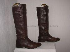 FRYE Bottes Femme cuir marron 7 1/2 B (P.38,5/39)