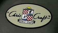 Chris Craft boat sign