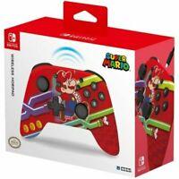 Super Mario & Pipes Hori Wireless Pro Controller Nintendo Switch Horipad
