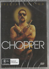 Eric Bana CHOPPER * NEW & SEALED * Region 0 (Plays on any Player!)