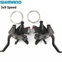 MTB Bike TX30 Thumb Gear Shifter 3x7 Speed Shift Lever Set For Mountain Bicycle