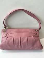 New Marc Jacobs Lola Umbrella Leather Shoulder Bag Dusty Rose Pink $795