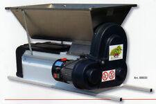 6351 - ESTRUJADORA DESPALILLADORA CON MOTOR 1 HP CON TOLVA INOX DMCSI
