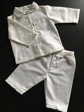 BNWT Baby Girls Sz 0 Cute Pink/White Long Style Flannel Winter Style PJ Pyjamas