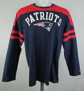 New England Patriots NFL Starter Men's Long Sleeve Graphic T-Shirt